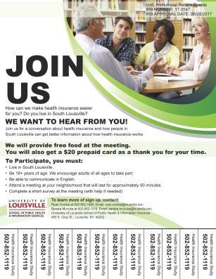 HLSL recruitment flyer